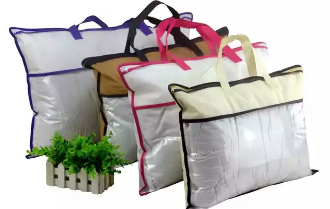 Bags of non-woven fabric materials